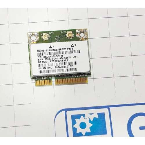 Wi-Fi модуль ноутбука HP DV6-3000, DV7-4000 DV7-6000 серии, BCM94313HMGB