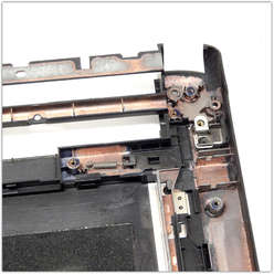 Нижняя часть корпуса, поддон нетбука eMachines M350, AP0E9000300
