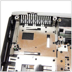Нижняя часть корпуса, поддон ноутбука HP DV2000, 417093-001