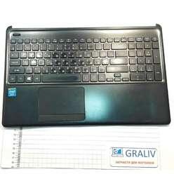 Верхняя часть ноутбука, палмрест Acer Aspire E1-532, E1-572 AP0VR0007B1