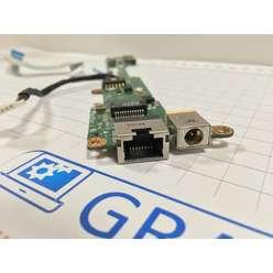 Панель старта, разъем питания, Ethernet для ноутбука Acer V5-551 V5-551G