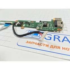 Панель старта, разъем питания, Ethernet для ноутбука Acer V5-551 V5-551G DA0ZRPPC6D0