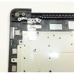 Верхняя часть корпуса, палмрест с клавиатурой ноутбука DNS M500B