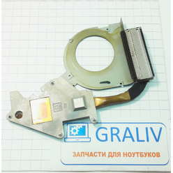 Система охлаждения, радиатор для ноутбука Packard Bell MS2274 TJ61 60.4BX07.002 A03