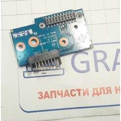 Плата с коннектором АКБ ноутбука eMachines G630 LS-5853P