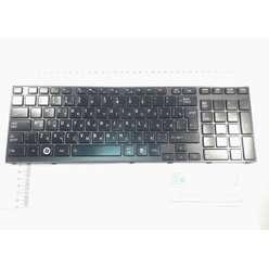 Клавиатура с рамкой для ноутбука Toshiba Satellite A660 A665 PK130CX2C11