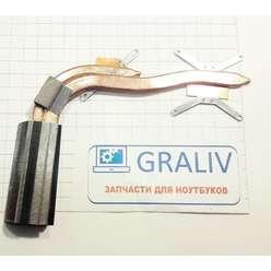 Радиатор системы охлаждения, термотрубка ноутбука DNS H36 (0123257) 13N0-W0A0302