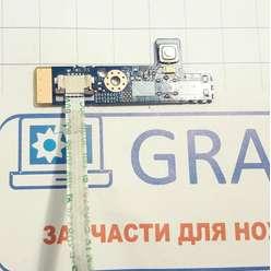 Плата с кнопкой включения ноутбука Dexp Aquilon O106 W970TU (0806843) 6-71-W54KS-D03