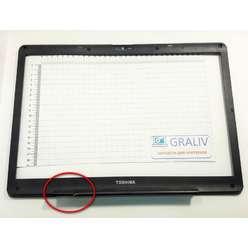 Безель, рамка матрицы ноутбука TOSHIBA SATELLITE X200,X205, P200, P205, P295 AP017000300