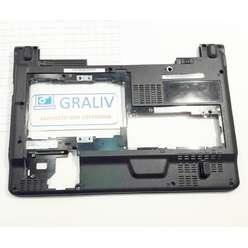 Нижняя часть корпуса, поддон ноутбука DNS PNS1010 0129908  010100D00001