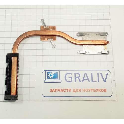 Радиатор, термотрубка системы охлаждения ноутбука HP 15-ay, 15-af, 15-ba, SPS-813948-001