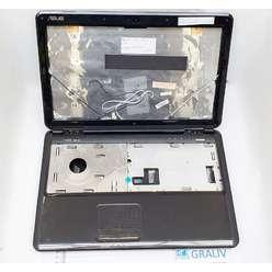 Корпус ноутбука Dell N5010 в сборе. (крышка матрицы, рамка, палмрест, поддон, заглушка)