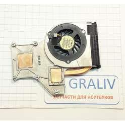 Система охлаждения ноутбука HP Pavilion dv2000 dv2500 dv2600 dv2700 серии 450096-001, 60.4S507.002
