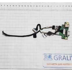 Доп. плата c кнопкой включения ноутбука Packard Bell LH1 S-FU-001, SJM31 VGA/B A02, 6050A2275901