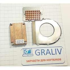 Радиатор системы охлаждения ноутбука Samsung R20, R25, BA62-00434A