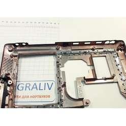 Нижняя часть корпуса ноутбука Asus X50z, X50, F5, 13GNLI1AP011