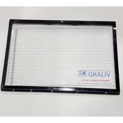 Защитное стекло с рамкой ноутбука Lenovo Y510 15303