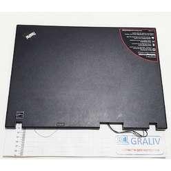 Крышка матрицы ноутбука Lenovo R61i, PN 42W2260 IBM 23-931W