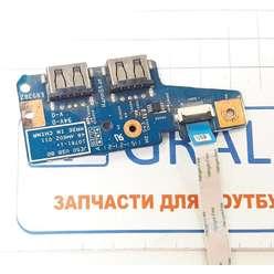 Доп. плата с USB ноутбука Acer Aspire 5560G 48.4M602.011