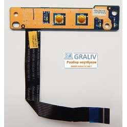Плата включения включения, панель, кнопка старта ноутбука Lenovo G780 G570 G575 LS-6753P