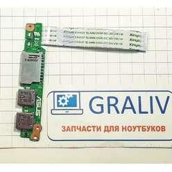 Доп. плата с USB, SD ноутбука Asus UX310U, 69N0UPD10D01