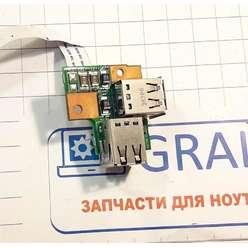 Доп. плата с разьемами USB ноутбука Fujitsu Siemens AMILO Pro V8210, 55.4P503.001G
