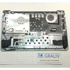 Верхняя часть корпуса, палмрест с клавиатурой и динамиками, ноутбука Asus X201E, 13NB00L1AM0102