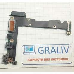 Доп. плата ноутбука Asus X201E, 60NB00L0-101, 33EX2IB0010