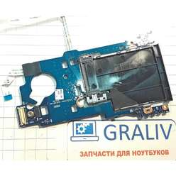 Доп. плата с картридером, Card Reader ноутбука HP Elitebook 8460P, 6050A2398801