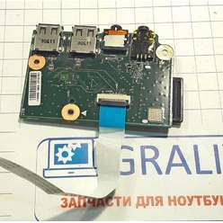 Доп. плата (картридер, звук, usb) ноутбука MSI CX640, MS-16Y1, 08N2-1D11O00, E220370