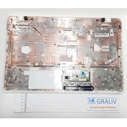 Верхняя часть корпуса, палмрест ноутбука Toshiba L775, 13N0-Y3A0H01