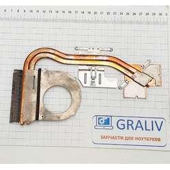 Радиатор системы охлаждения, термотрубка ноутбука Acer E5-575, F5-573, F5-771, FCN3BZAATATN00
