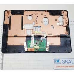 Верхняя часть корпуса с заглушкой, палмрест ноутбука DNS P116K mini (0134339)