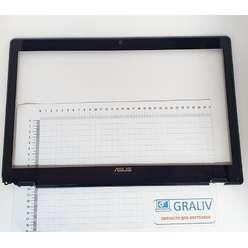 Рамка матрицы со стеклом ноутбука Asus N71J 13N0-G5A0422 13GNX02AP020-1