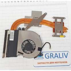 Система охлаждения ноутбука Asus N71J 13GNXG1AM030 13N0-GLA0401