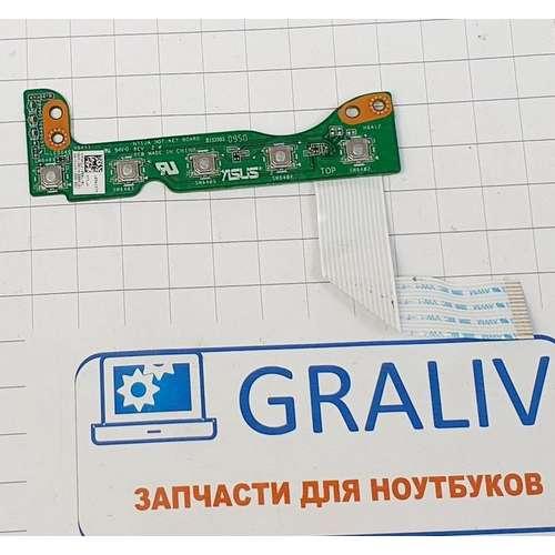 Панель управления ноутбука Asus N71J 69N0GLK10B01-1
