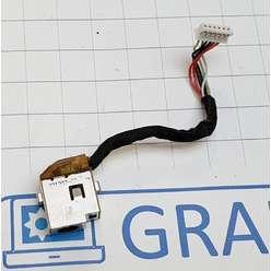 Разьем питания с кабелем ноутбука HP DM3-1000