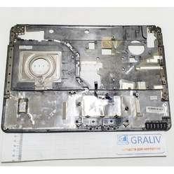 Верхняя часть корпуса, палмрест ноутбука DNS TW9D 129306, ZYE35TW9TA0040
