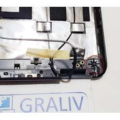 Крышка матрицы ноутбука DNS TW9D 129306, ZYE38TW9LC0023A