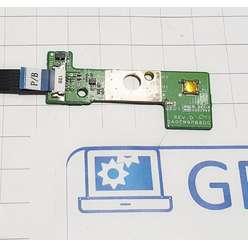 Панель старта, кнопка включения ноутбука DNS TW9D 129306, DA0TW9PB8D0