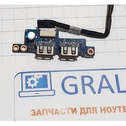 Доп. плата с разьемами usb ноутбука HP G7000 C700, LS-3731P
