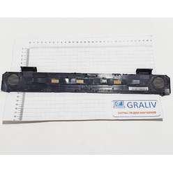 Заглушка верхней части корпуса, кнопка включения ноутбука MSI GT683 MS-16F2, 6F1E213P89BB