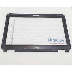 Рамка матрицы ноутбука MSI GT683 MS-16F2, 6F2B214P89BA, E2P-6F2B214-F