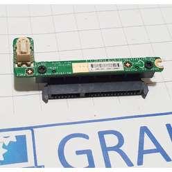 Доп. плата с переходником SATA ноутбука MSI GT683 MS-16F2, 124K106647