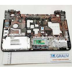Верхняя часть корпуса, палмрест ноутбука DNS BLB2 0127922, AP09H000400