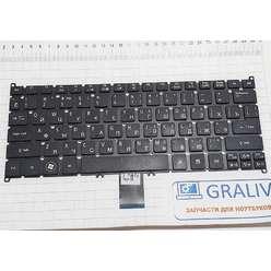 Клавиатура ноутбука Acer One 756, PK130RO1A04, V128202CS1