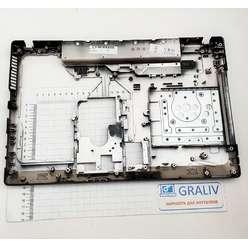 Нижняя часть корпуса, поддон ноутбука Lenovo G570, G575 (новый)
