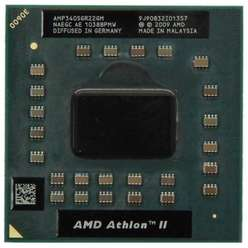 Процессор AMD Athlon II Dual Mobile P340 2.2GHz CPU AMP340SGR22GM Socket S1 S1G4
