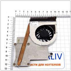 Система охлаждения ноутбука HP Pavilion dv2000 dv3000  KDB0505HB 5K86 60.4F702.001