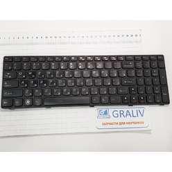 Клавиатура для ноутбука Lenovo G770, 25-012436, V-117020CS1-RU